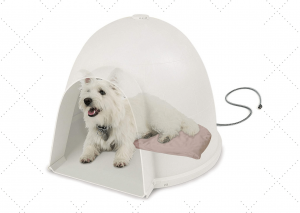 Igloo Dog House Bed With Heater