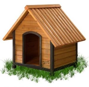 Wooden Dog House For Snow