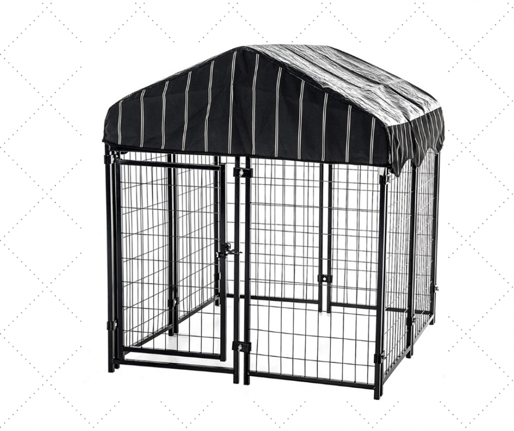Best Covered Outdoor Dog Kennel For Small Dogs
