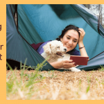 Camping With A Puppy In A Tent