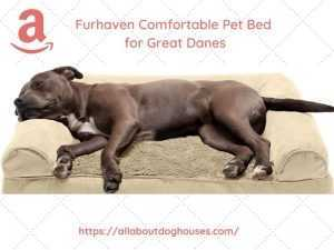 Furhaven Dog Bed for Great Danes