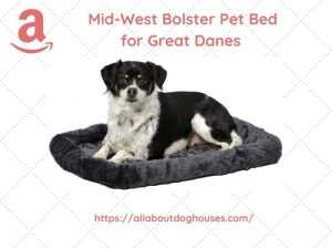 Midwest Bolster Dog Bed for Great Danes