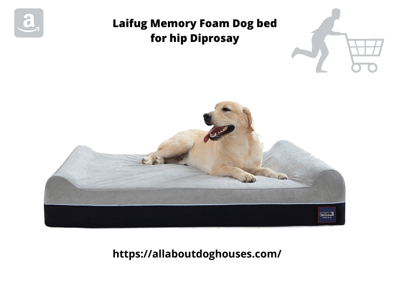 Laifug Memory Foam Dog Bed
