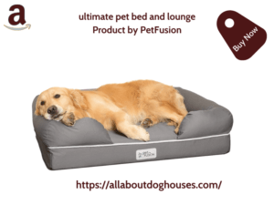 Pet Fusions Ultimate Pet Bed And Lounge
