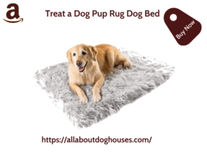 Treat A Dog Pup Rug Dog Bed 1